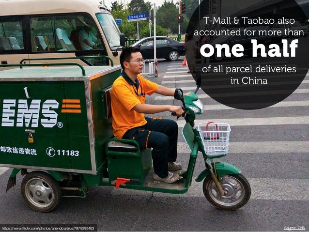 https://www.flickr.com/photos/ahenobarbus/7979295403 one half T-Mall & Taobao also accounted for more than of all parcel de...
