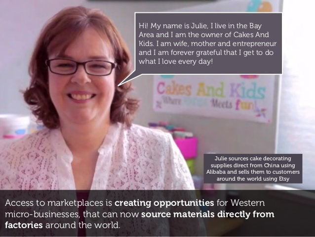 Access to marketplaces is creating opportunities for Western micro-businesses, that can now source materials directly from...