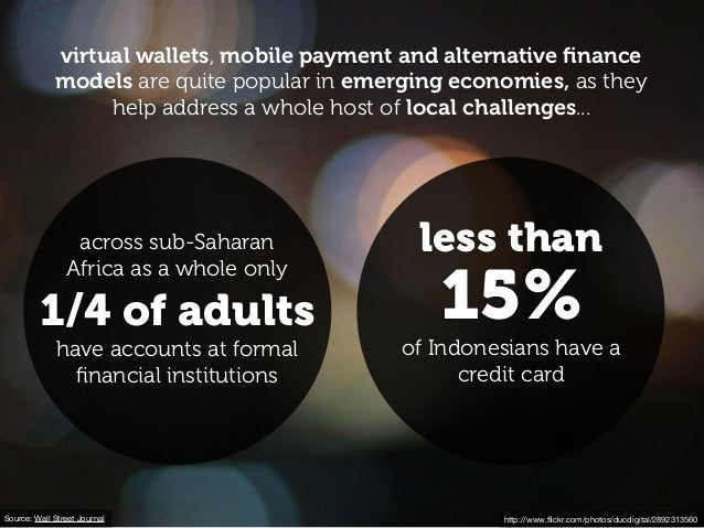 http://www.flickr.com/photos/ducdigital/2892313560 virtual wallets, mobile payment and alternative finance models are quite ...
