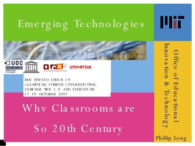 Emerging Tech Classrooms