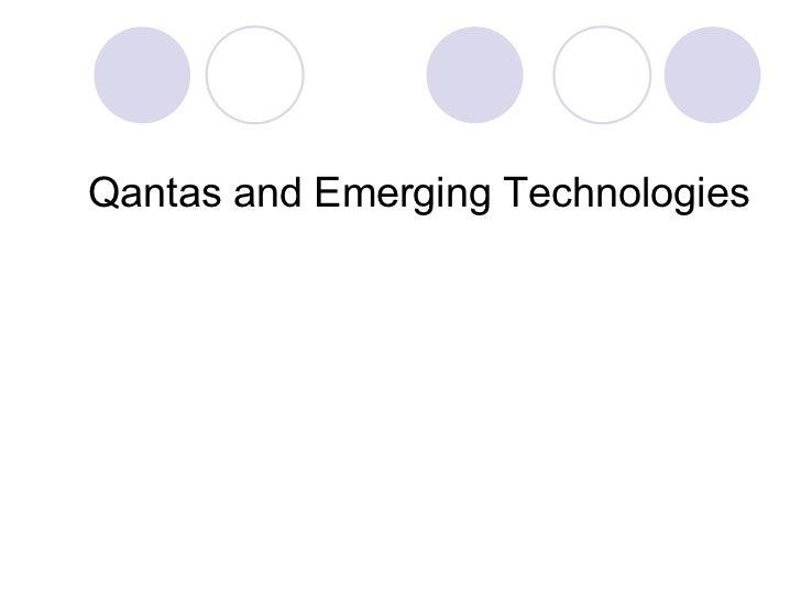 Emerging Technologies and Qanats Slide 2