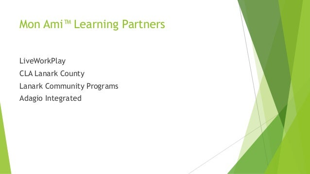 Emerging Technology: Presentation to Community Living Ontario Annual Conference 2014 Slide 3