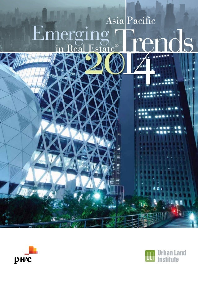 Asia Pacific  Emerging  Trends  2014  in Real Estate®