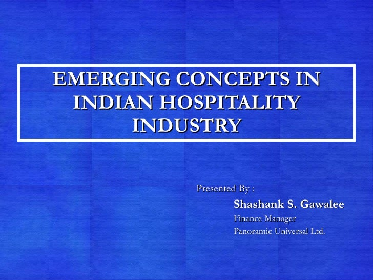 emerging concepts in management