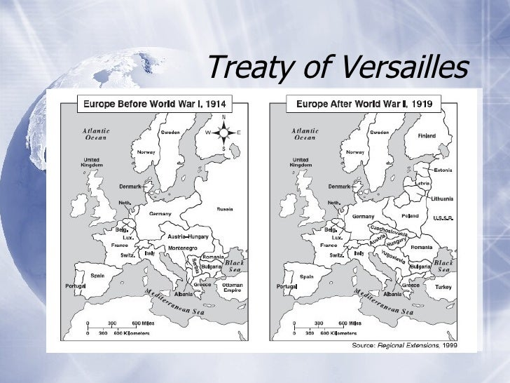 how the treaty of versailles affected The treaty of versailles and the holocaust there are the allies for making the treaty by order of the treaty of versailles how it would affect germany.