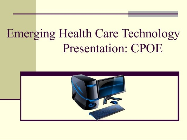 emerging healthcare technology presentation © 2003 health technology center emerging technologies in healthcare: disruptive effects in disease management presentation for the national disease management summit.