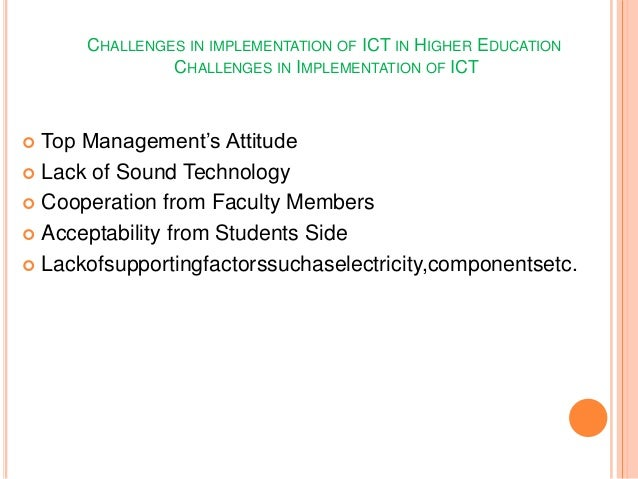 application of ict in classrooms in Schools must be aware of and use available technology-based teaching and   policy resources to support the use of digital technologies ict.