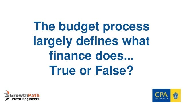 future of budgeting Budgeting creates a comprehensive picture of the future and makes both  opportunities and barriers conscious this foreknowledge then helps guide day- to-day.
