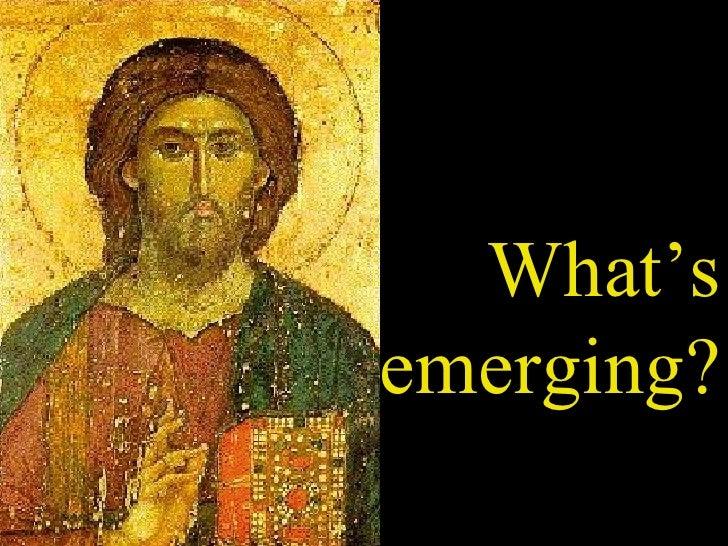 Emerging Missional Church Slide 2