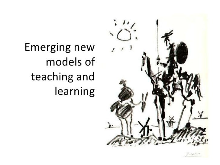 Emerging new models of teaching and learning<br />
