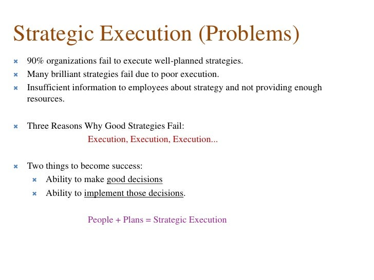 why organizations fail
