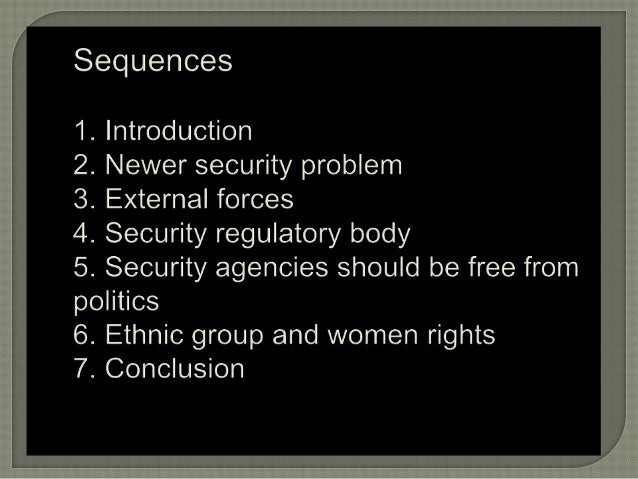 Emerging security challenges of Nepal Slide 3