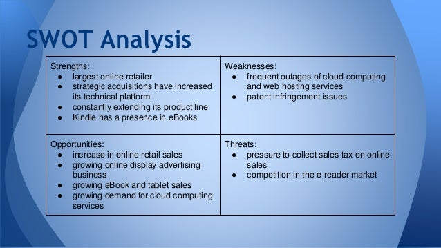 wal mart swot analysis 1 Walmart, the largest private walmart - swot analysis published on may 10 the swot analysis example mentioned in the article is one of the example swot.