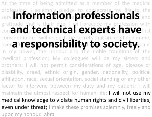 Privacy, Emerging Technology, and Information Professionals