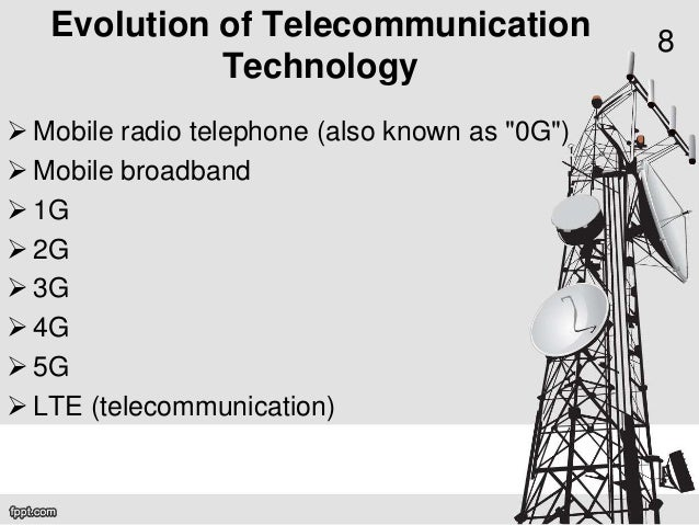 Emerging telecommunication technologies