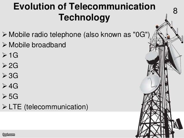 History of wireless communication.