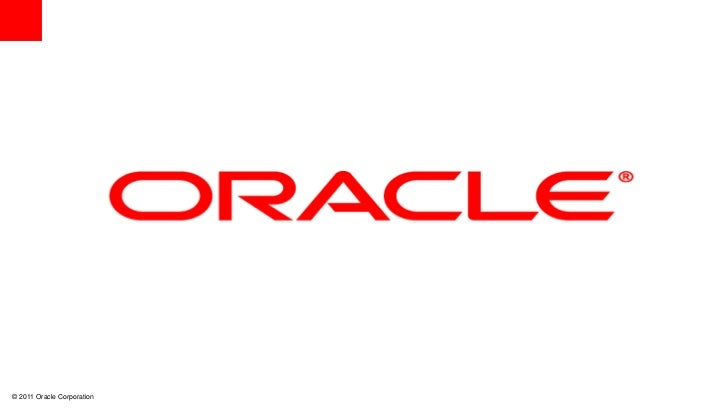 © 2011 Oracle Corporation   0   0