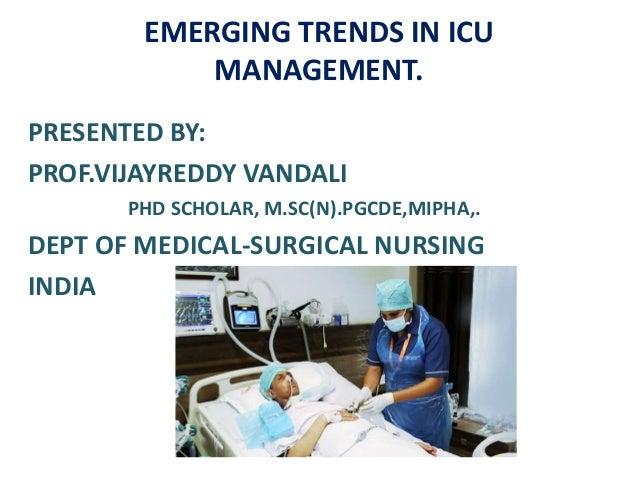 Emerging Trends in Critical Care Nursing