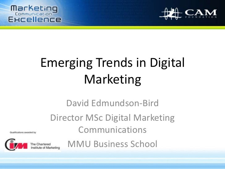 Latest trends in marketing