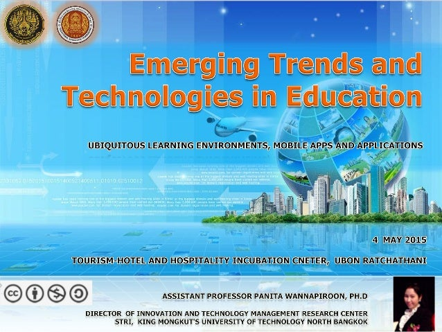 หัวข้อสนทนา ICT 2020 Top 10 Strategic Technology Trends Mobile Learning environments & Technology Tools Innovations in Tea...