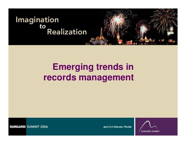 media management emerging trends Access free gartner research and webinars covering the latest tech trends and emerging technology click now for technology trends in 2016/2017.