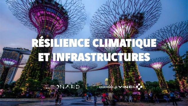 RÉSILIENCE CLIMATIQUE ET INFRASTRUCTURES 0