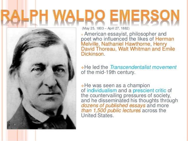 ralph waldo emerson works