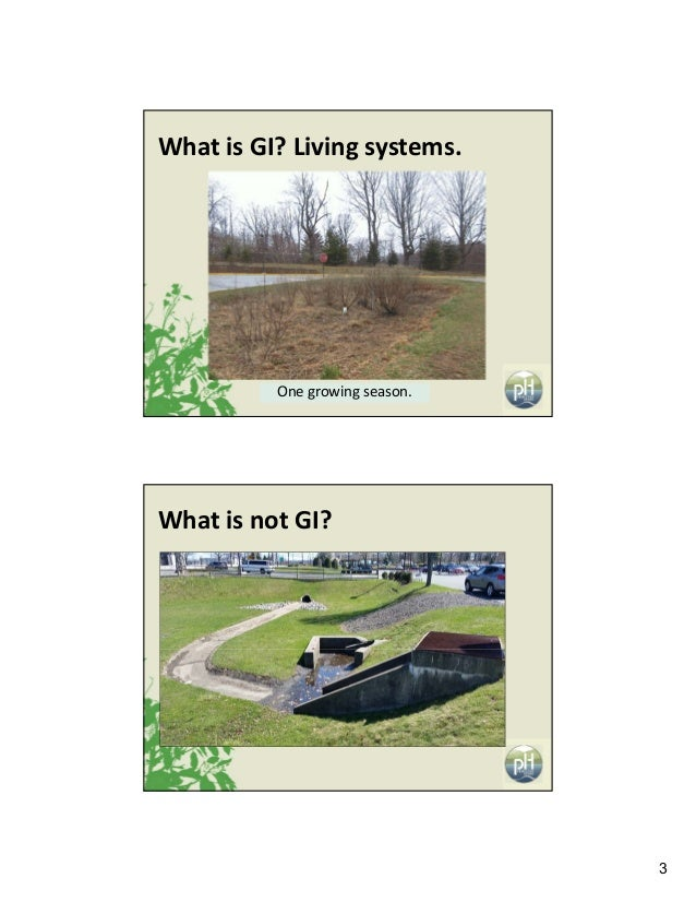 3 Onegrowingseason. WhatisGI?Livingsystems. WhatisnotGI?