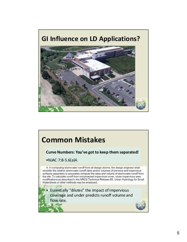 5 GIInfluenceonLDApplications? CommonMistakes CurveNumbers:You'vegottokeepthemseparated! •NJAC7:8‐5.6(a)4. • ...