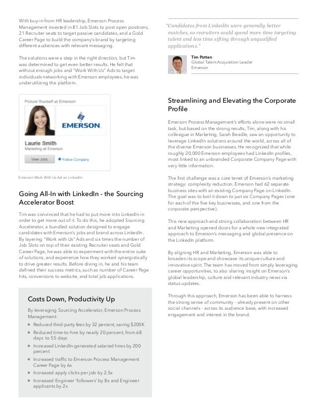 Streamlining and Elevating the CorporateProfileEmerson Process Management's efforts alone were no smalltask, but based on t...
