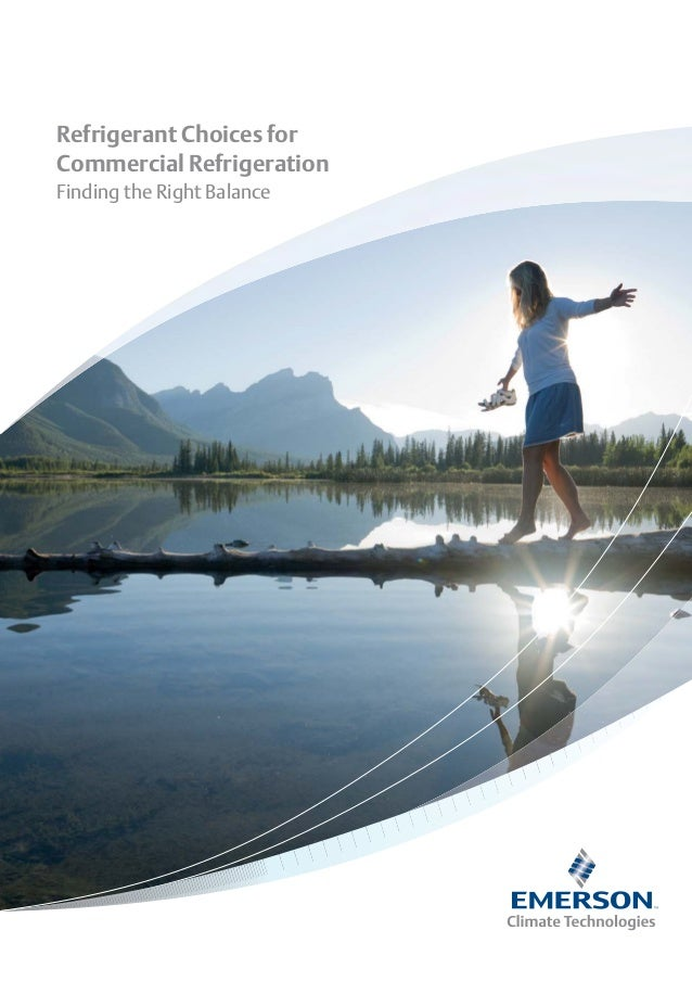 Emerson climate technologies 2010 - Refrigerant choices for