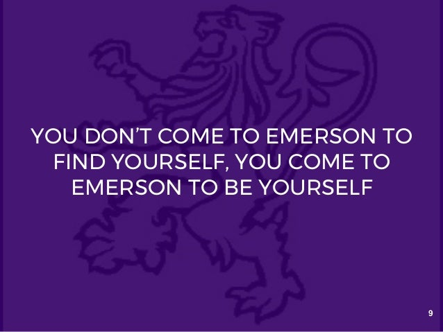 coursework emerson college Emerson college, boston, massachusetts 27k likes emerson college combines intellectual exploration with professional preparation to help ambitious.