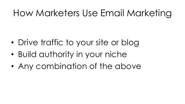 Email Marketing Essentials Slideshow Sample – Email Marketing Sample