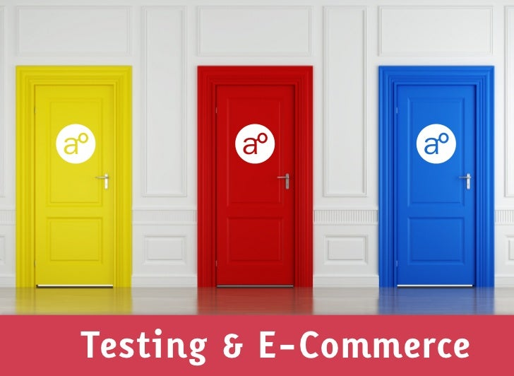 Testing & E-Commerce