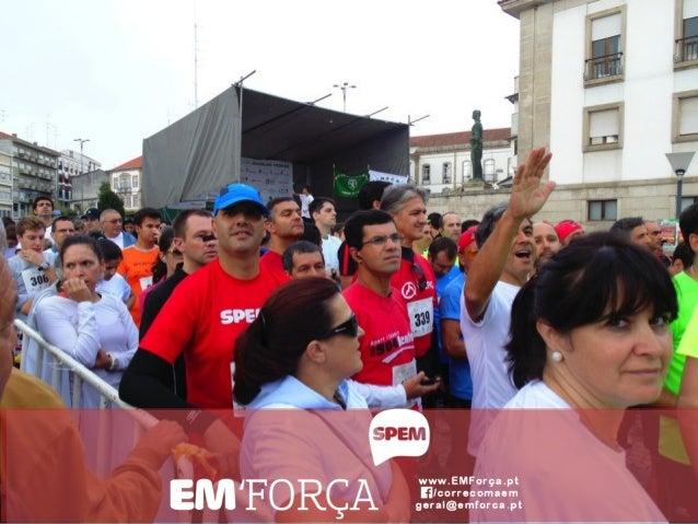 Equipa EM'Força - corremos com a esclerose múltipla: apresentação no X Congresso Nacional da SPEM :: 7 Dezembro 2013