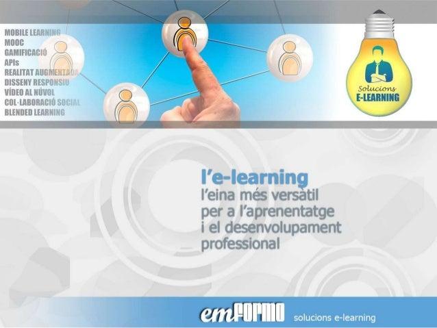 L'e-learning, una eina més
