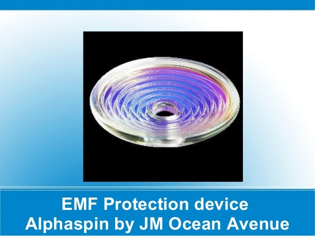 EMF Protection device Alphaspin by JM Ocean Avenue