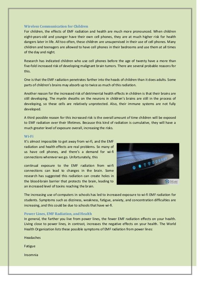 Emf radiation and health an emerging danger - part 1