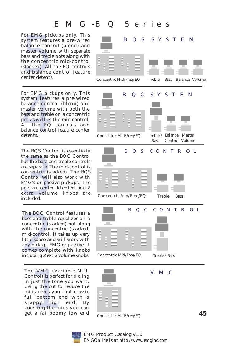 Emg Pickups Wiring Diagram Electrical Diagrams Volume 1 Tone Pickup Hb Data Base Guitar