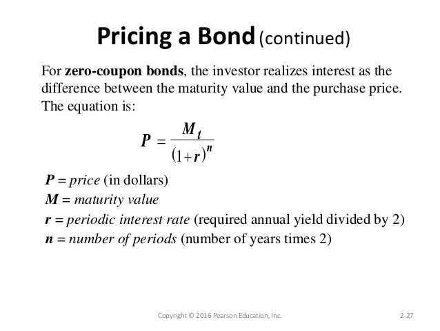 Learn more about Zero-Coupon Bond