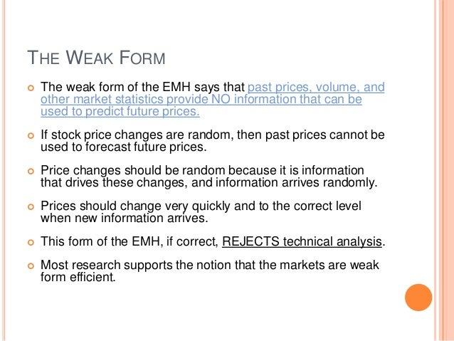 Efficient Market Hypothesis Valuation of Bonds