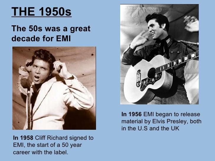 Analysis of music industry and EMI music - UK Essays