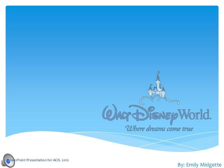 Disney Emily