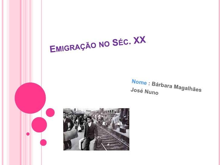 DEFINIÇÃO DE EMIGRAÇÃO   A emigração é a saída de portugueses de Portugal    para outros países.Nº de pessoas que tem emi...