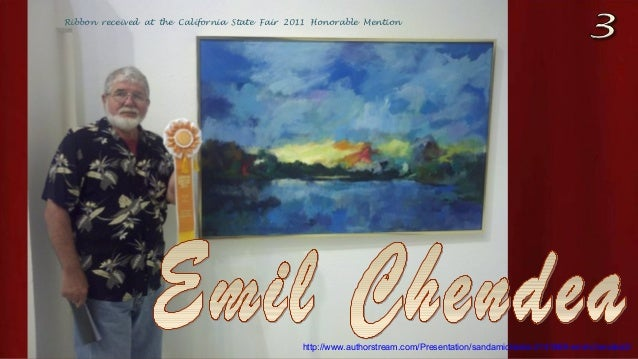 Ribbon received at the California State Fair 2011 Honorable Mention http://www.authorstream.com/Presentation/sandamichaela...