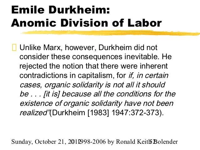 Emile Durkheim on Social Solidarity Durkheim Is&nbspEssay