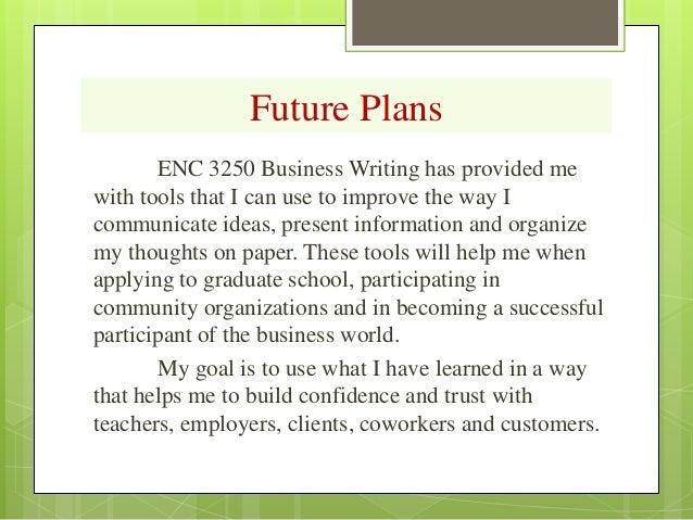 Future plan essay