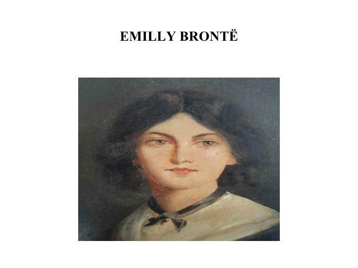 EMILLY BRONTË