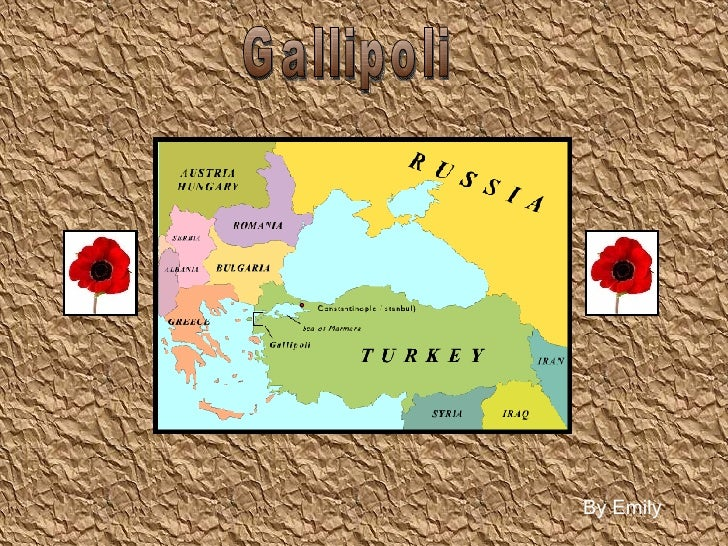 Gallipoli By Emily