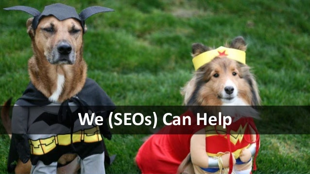 #SearchLove @goutaste We (SEOs) Can Help